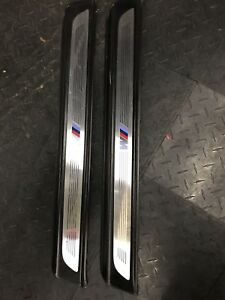 BMW 650i Coupe F12 M Sport Door Sills Tread Plate Pair