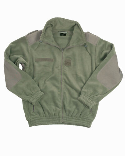 Mil-TEC Fleece Jacke franz Kälteschutzjacke oliv Fleecejacke Jagdjacke