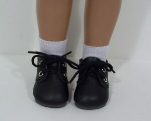 "BLACK Classic Doll Shoes For 16/"" Debs 17/"" Sasha"