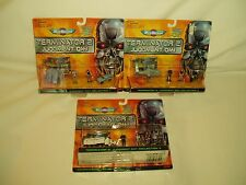 Micro Machines Miniatures Terminator 2 Collections Lot of 3 MOC