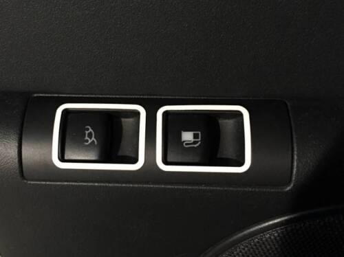 Rahmen für Schalter Kofferraum Tankdeckel Edelstahl pol D VW New Beetle Chrom