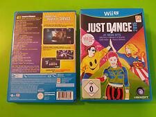 Just Dance 2015 15 Tanzspiel komplett Deutsch für Nintendo WiiU, OVP