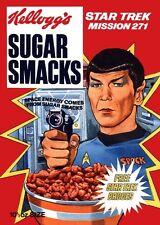 Kellogs Star Trek Spock 1970's Ad Poster A3 reprint