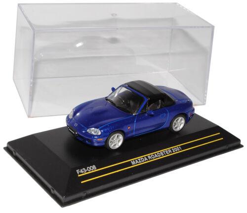 Mazda MX-5 NB Blau 1998-2005 1//43 First 43 Modell Auto mit oder ohne individiu..