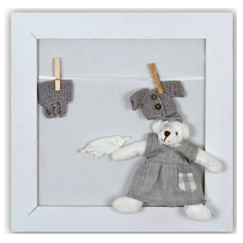 Plush Art Canvas Collage Hanging Wall Picture Baby Child Nursery Bedroom Gift