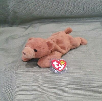 MWMT 1993 Cubbie The Bear RETIRED Original 9 TY Beanie Baby 4th /& 5th Gen Tags