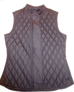 Belstaff-Black-Westwell-Quilted-Gilet-Vest-NWT-Euro-Size-38-US-size-Small-295