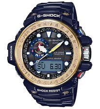 Casio G-Shock * GWN1000F-2A Gulfmaster GShock Solar D. Blue & Gold Ivanandsophia