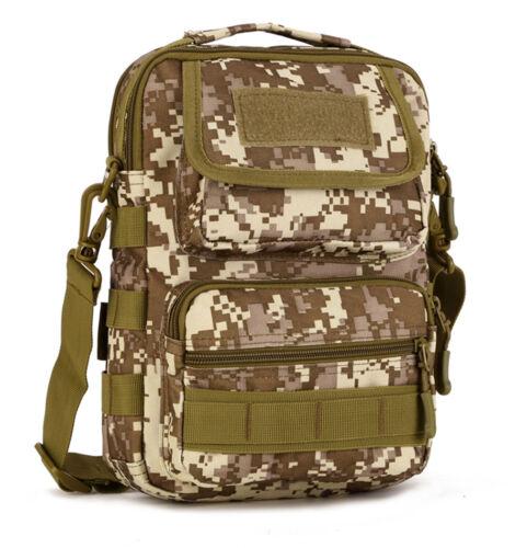 Men/'s Nylon Military Tactical Briefcase Shoulder Messenger Bag Outdoor Handbags