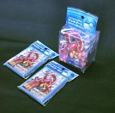 Pokemon Card Volcanion Mega Gardevoir Sleeve 2 Packs (64) + Deck Case Set