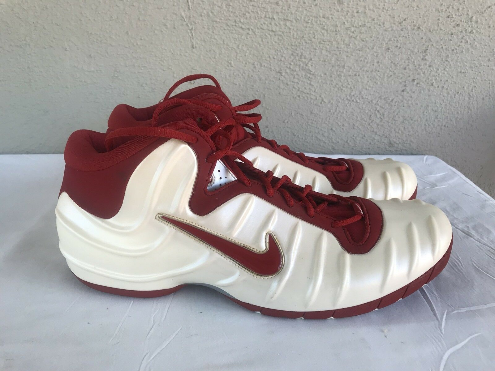 RARE Nike Air Pureposite Foamposite Foamposite Foamposite 2002 Men US 16  Turnschuhe Basketball Athletic B 71568a 9db1c6a47