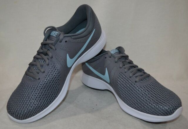 b48029b7e04cc Nike Revolution 4 Gunsmoke Ocean Bliss Women s Running Shoes-Assorted Sizes  NWB