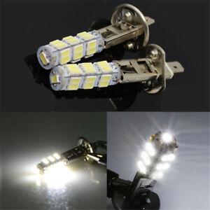 2pcs H1 LED 26-SMD Canbus Super Bright White 6000K Headlight 2 Bulb High Beam