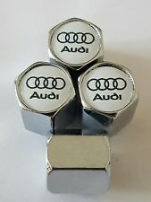 Audi Wheel Valve Dust caps CHROME ALL COLORS ALL MODELS S LINE RS TT s5 s5 s3 a3