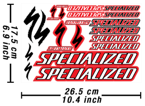 Specialized-Decals-Stickers-Bicycle-Graphics-Autocollant-Aufkleber-Adesivi-589