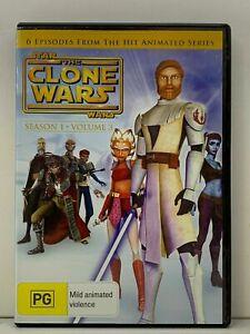 DVD - Star Wars The Clone Wars -Season/Series 1 One - Volume 3 - FREE POST #P5
