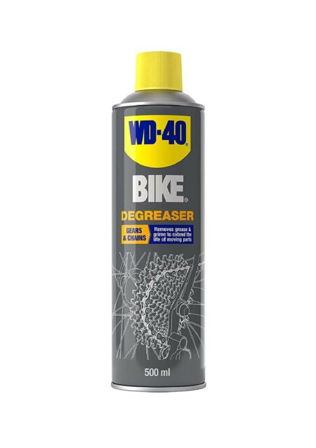 WD-40 Bike, Bicycle Chains & Gears Degreaser, 500ml - Free Postage