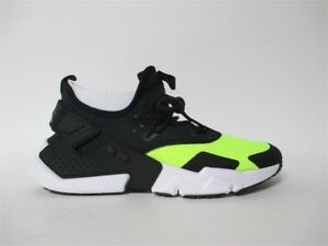 4c00c38959ed Image is loading Nike-Air-Huarache-Drift-Black-White-Volt-Sz-
