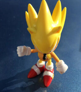 Sonic The Hedgehog Jazwares 3 Yellow Action Figure Cake Topper Super Shadow Ebay