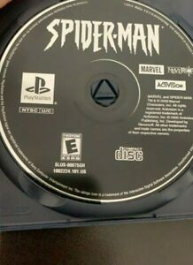 Spider-Man PS1 PlayStation 1 Game DISC ONLY Very Good Condition *TESTED*