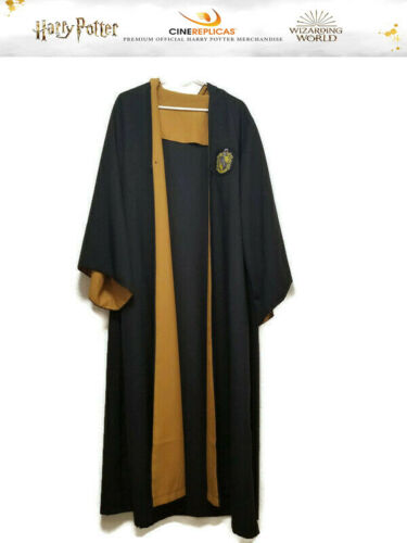 Hogwarts Wizarding World HP Harry Potter Unisex Adult L Hufflepuff House Robe