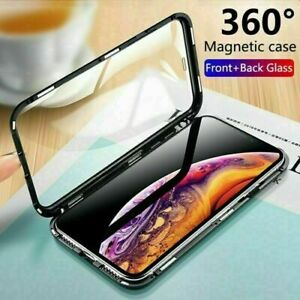 360-Protective-Magnetic-Shockproof-Phone-Case-Cover-for-iPhone-7-8-Plus-X-XS-MAX