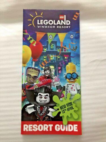 LEGOLAND LEGO LAND WINDSOR 2019 UK UNITED KINGDOM RESORT GUIDE MAP LEAFLET *NEW*