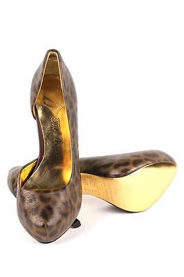 Ted Baker Women/'s $275 Cardeen Leopard Multi Designer Pump Shoes high Heel NEW