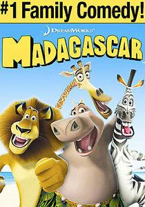 Madagascar-DVD-Disco-amp-ilustraciones-solo-ningun-caso-condicion-Envio-rapido