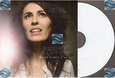 LA GRANDE SOPHIE quand le mois d'avril CD PROMO