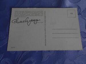 NASA Postkarte original signert Chuck Yeager Space