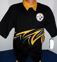 Pittsburgh Steelers Nfl Slash Shirt - Adult Xxl Free Shipping