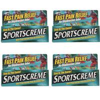 4 Pack Sportscreme Rub 3 Oz Each on sale