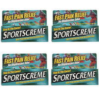 4 Pack Sportscreme Rub 3 Oz Each on sale