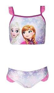 a4aef9024cfd Caricamento dell'immagine in corso Costume-frozen-mare-bambina-bikini- piscina-Disney-Anna-