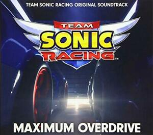 CD-Maximum-Overdrive-Team-Sonic-Racing-Original-Sound-Track-NEW-from-Japan