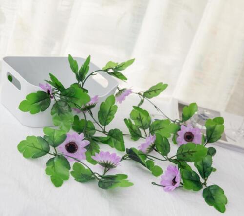 Artificial Sunflower Garland Flower Vine Wedding Floral Arch Home Decor Silk
