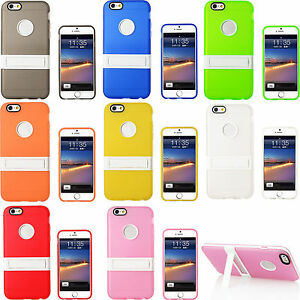 Slim-Clear-TPU-Shockproof-Matte-kickstand-Stand-Case-Cover-Skin-For-Apple-iPhone