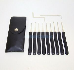 Secure Pro Practice 11 Piece Diy Lock Pick Picking Tools Locksmith