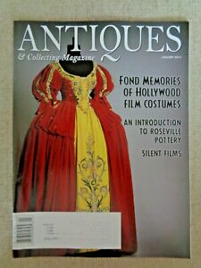 Antiques-amp-Collecting-Magazine-Jan-2011-Hollywood-Film-Costumes-Roseville-Disney
