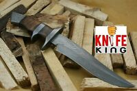 Knife King emperor Custom Damascus Handmade Hunting Knife. Top Quality. Comes on sale