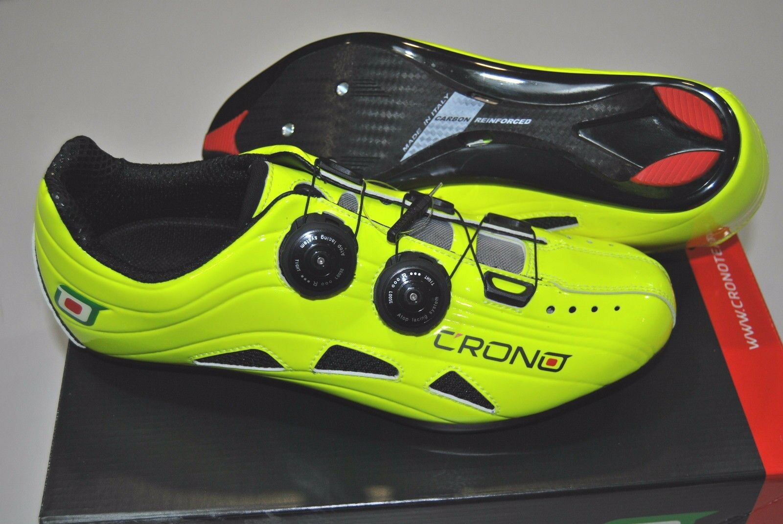 Scarpe Corsa CRONO FUTURA2 Nylon Giallo Fluo scarpe CRONO FUTURA2 giallo FLUO NYL
