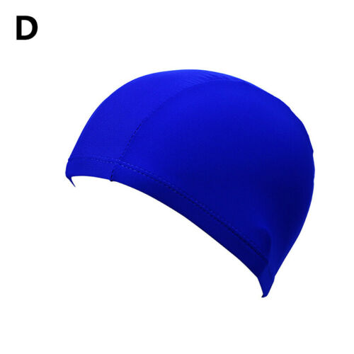 Details about  /1pc Cute Swimming Cap Solid Color Long Hair Clean Swim Pool For Adult Men Women
