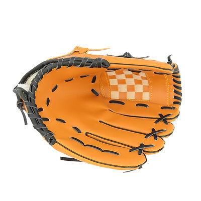 10.5'' 11.5'' 12.5'' Baseball Softball Glove Mitt Team Sports Left Hand Brown