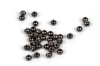 "1.5mm-3.8mm 20 Tungsten Matt Black Fly Tying Beads 1//16/""-5//32/"""