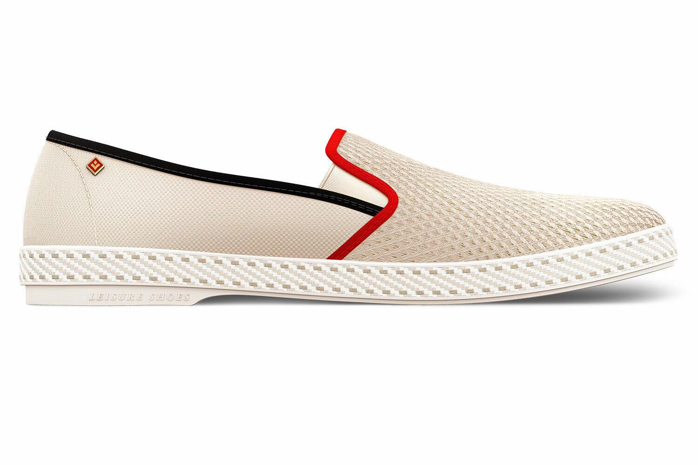 Rivieras Tour du Monde - bequeme Unisex Slipper Schuhe Halbschuh Loafer - NEU