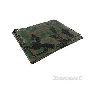 Dolce Bache De Camouflage Protection Impermeable Resistante 2.4 X 3 M Nature Militaire