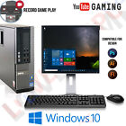 WINDOWS 10 GAMING COMPUTER PC INTEL CORE i5 8GB RAM 1TB HDD DESIGN AND GAMING