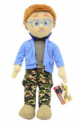 """OFFICIAL BRAND NEW 17"""" NORMAN PRICE PLUSH SOFT TOY TEDDY FIREMAN SAM"""