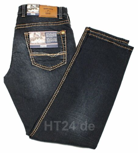 PIONEER Jeans RANDO 1654 9822-443 dark used Buffies L36 STRETCH Handcrafted